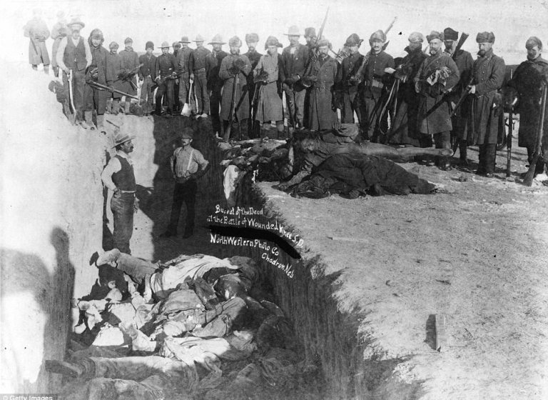 Geschichte von Wounded Knee
