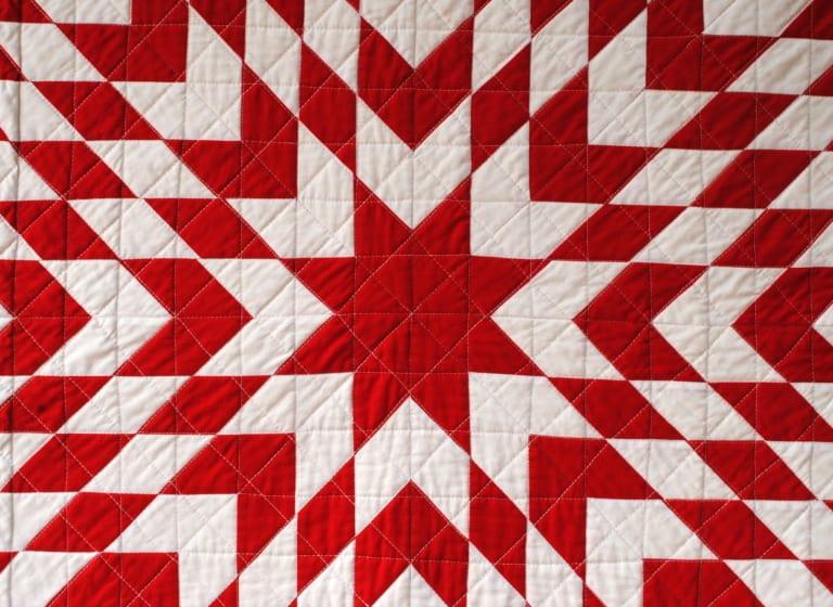Was ist die Bedeutung des Star-Quilts