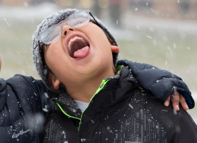 Wohlige Wärme für die Kinder!