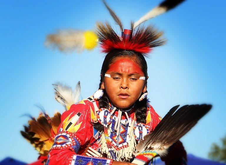 Kleidung Indianer