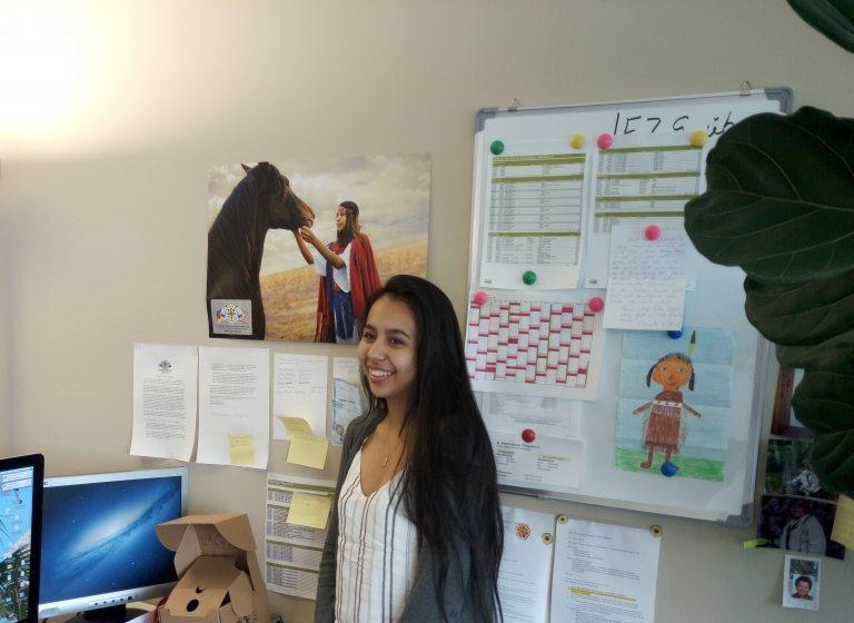 Wiedersehen mit Hope, High School Schülerin der St. Josefs Indianerschule